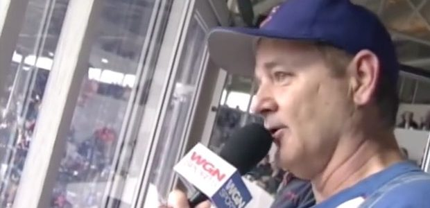 Bill Murray's epic rendition of 'Take Me Out to the Ball Game' softens the Cubs' game 3 loss