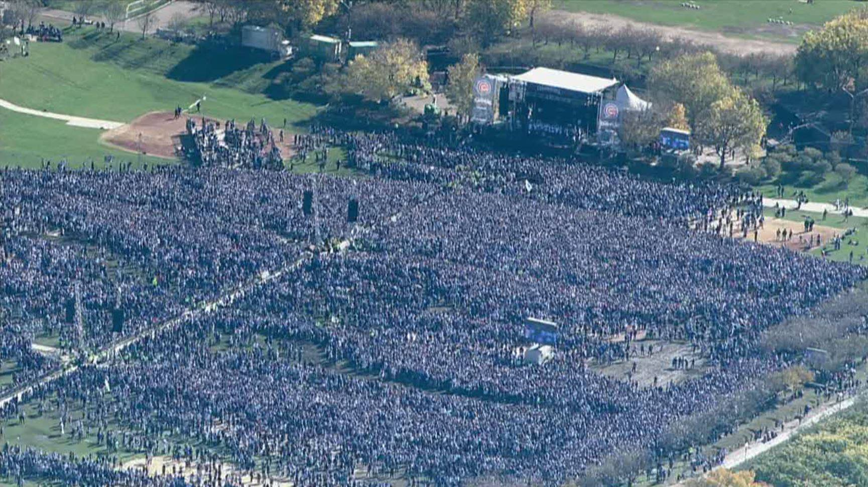Cubs World Series celebration ranks as 7th largest gathering in human history
