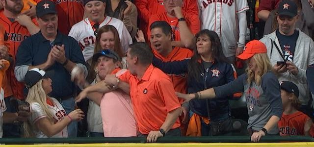 Here's the story behind the Astros fan who threw Yasiel Puig's homer back onto the field