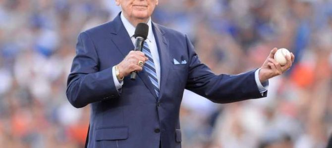 Vin Scully: 'I will never watch another NFL game'