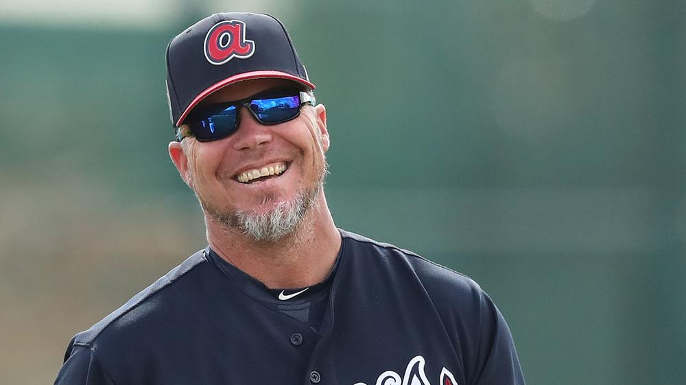 Chipper Jones is lean and keen on the Braves